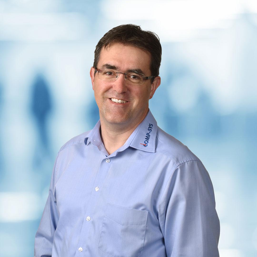Patric Schluep, Geschäftsführer, Comp-Sys Informatik AG Solothurn